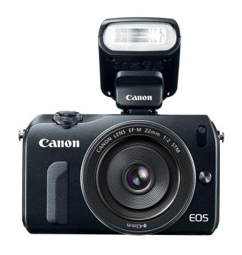 Canon EOS M (with speedlite)