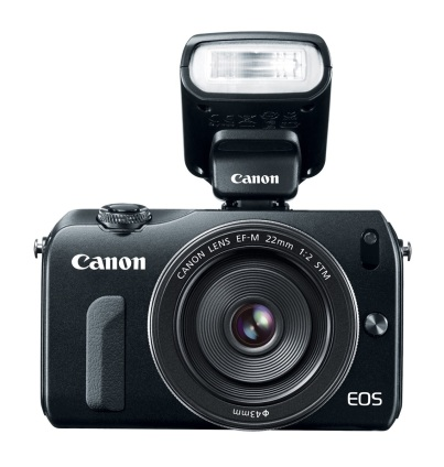 Canon EOS M (with speedlite)