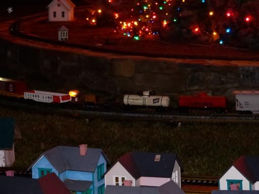 Christmas train set