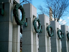 World War II Memorial, Washington, DC, USA.