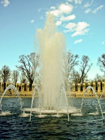 World War II Memorial, Washington, DC, USA.