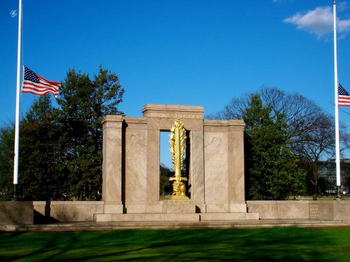 World War I Memorial, Washington, DC, USA.