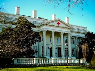 Front, Red Cross Headquarters, Washington, DC, USA.