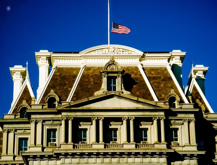 Mansard, Executive Office Building, Washington, DC, USA.