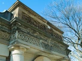 Bulfinch gate house, Washington, DC.