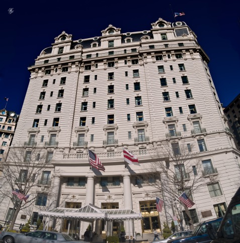 The Willard Inter-Continental Hotel, Washington, DC, USA.