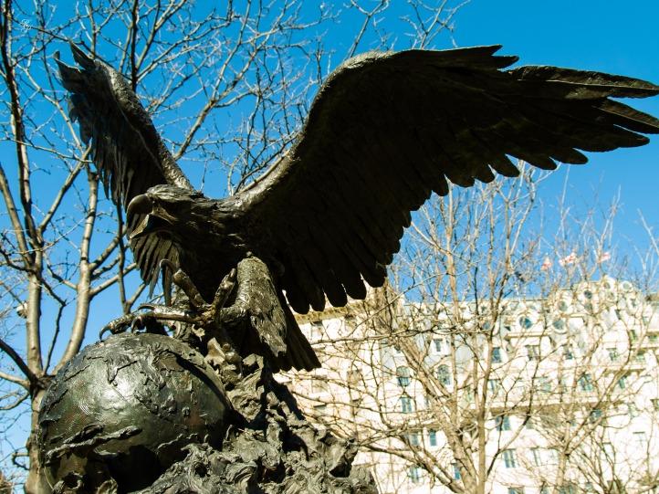 The Bex Eagle, Washington, DC, USA.