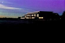 Kennedy Arts Center, Washington, DC, USA. 35mm film, Exakta EXA Ia.