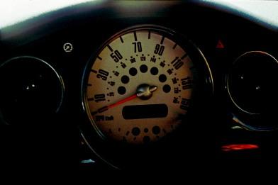Dashboard, 2003 MINI Cooper S. 35mm film, Exakta EXA Ia.