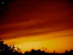 Where the sky meets the heavens