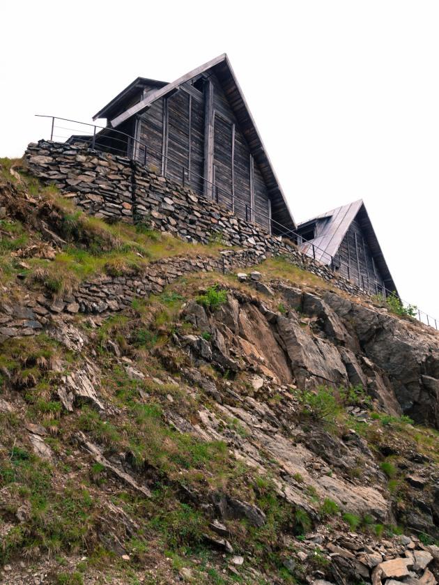 Deserted cabins