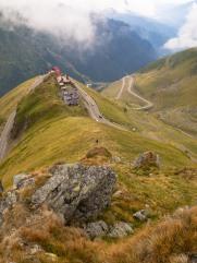 Toward the peak