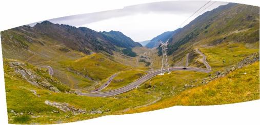 Transfagarasan Panorama