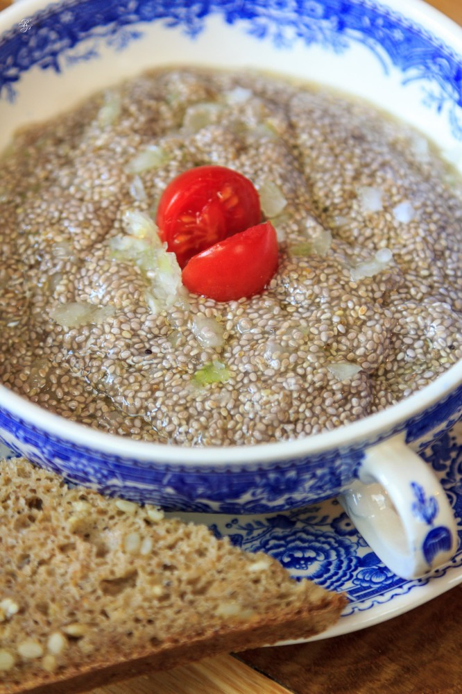 Chia Roe Salad