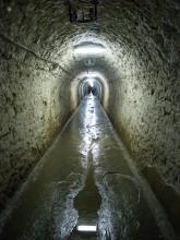 Tunnel to the salt mine