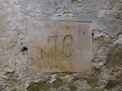 70 meter mark