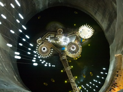 The underground lake
