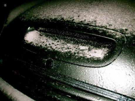 Icy intake and hood