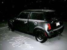 A frozen MINI