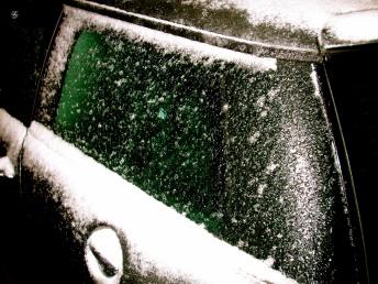 Icy windows