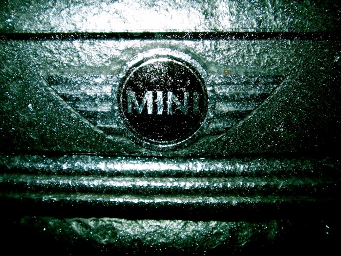 2003 MINI Cooper S, after a winter ice storm