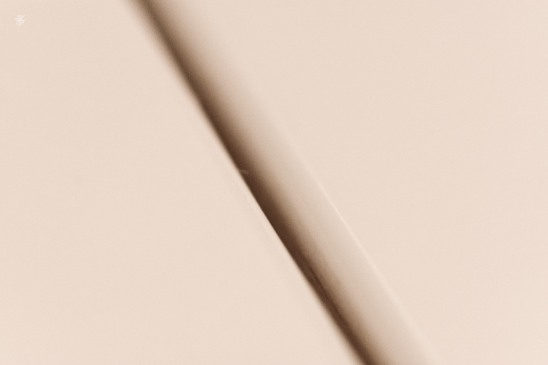 Ivory, edges, oblique line, abstract macro.