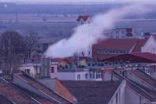 Plume of smoke