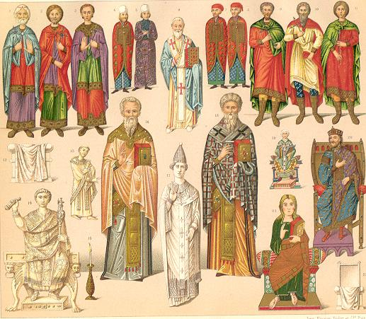 Byzantine clothes
