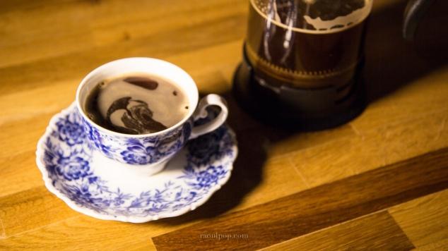 Sun-brewed coffee