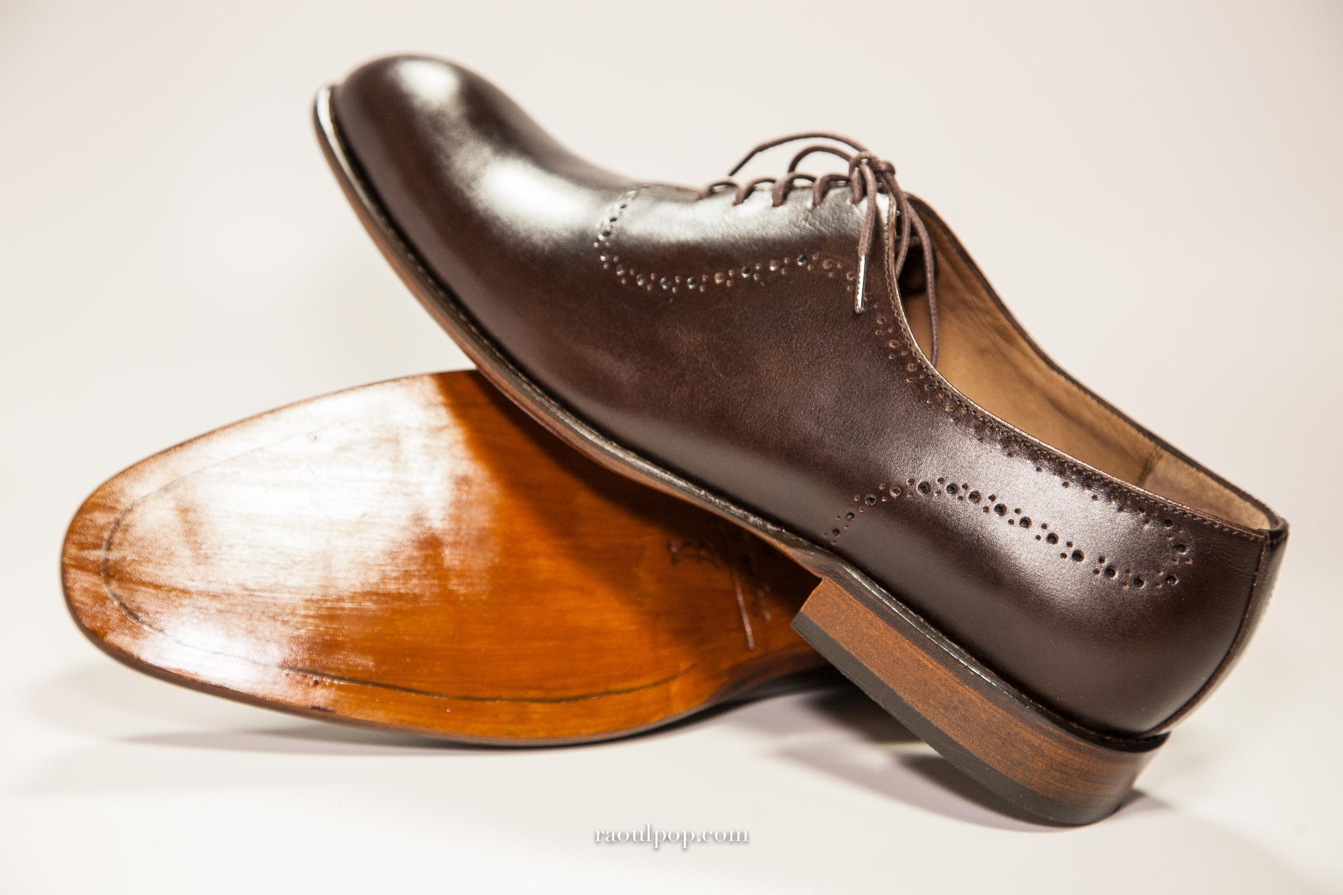 Classic Solo Handmade Shoes   Raoul Pop