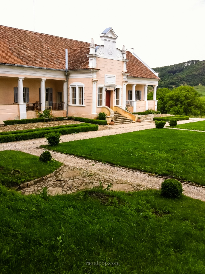 Gardens at Mălâncrav