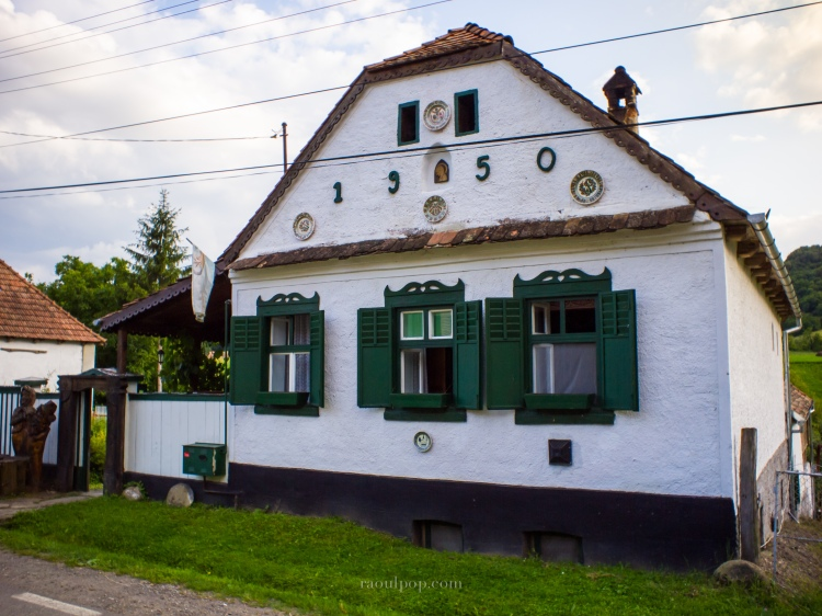 A restored house in Vetca.