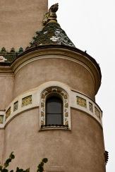 The window in the cupola