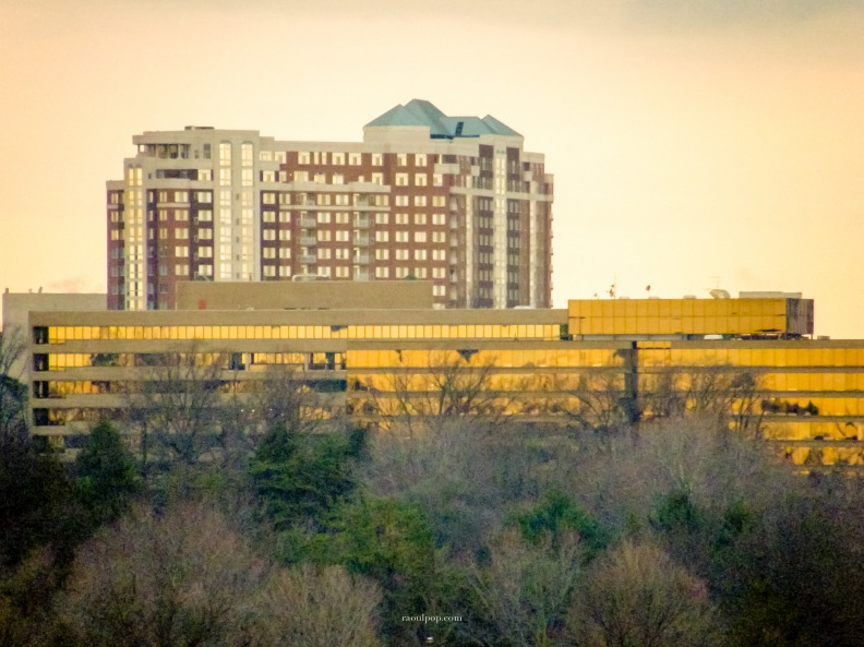 Rockville skyline