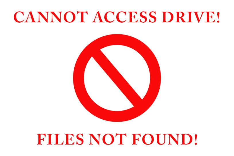 Cannot access drive