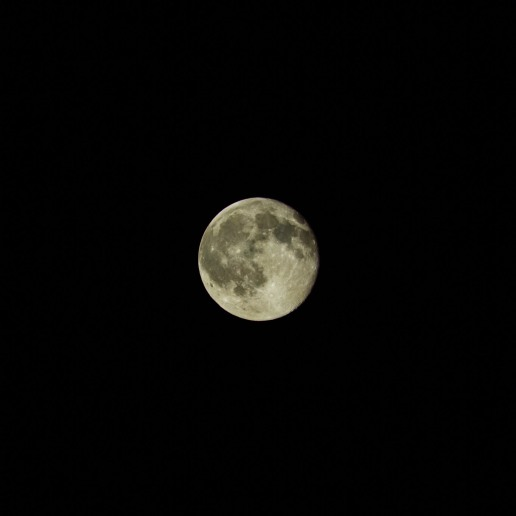 Full moon tonight