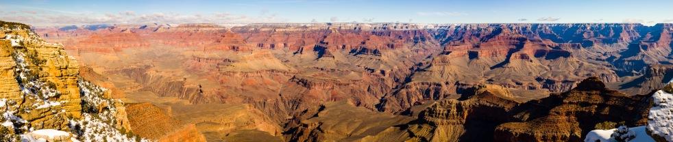 Panorama, South Rim, Grand Canyon