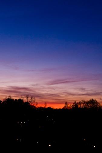 Daybreak, Grosvenor Park.