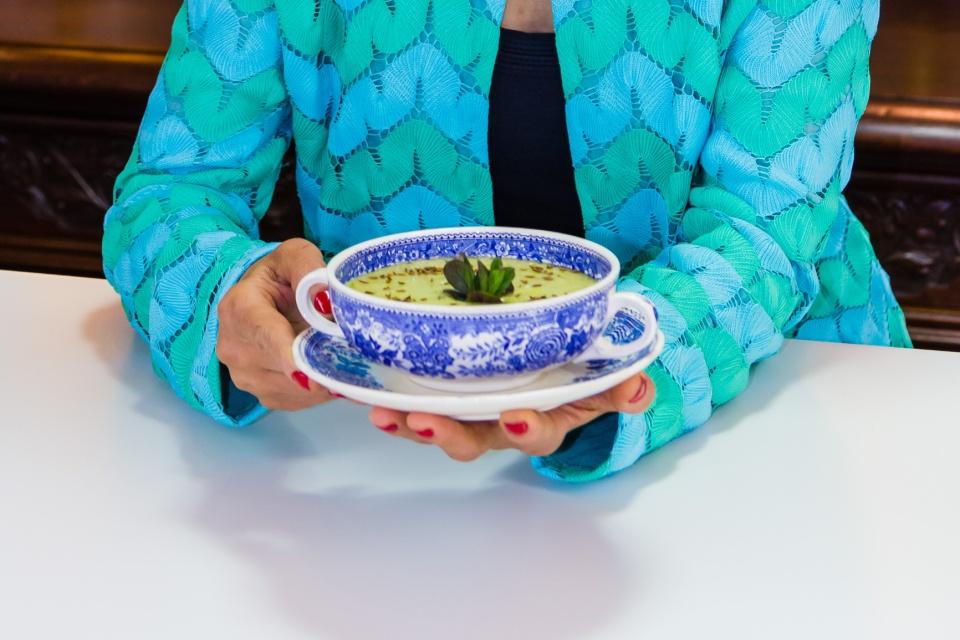 Ligia's lentil soup