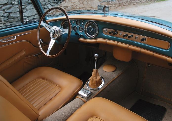 1956 Maserati A6G-2000 Allemano Interior