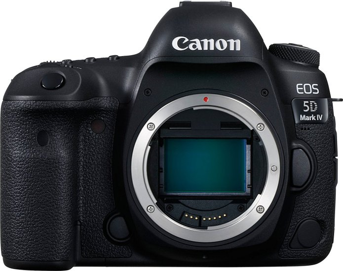 Canon 5D Mark IV Front