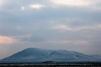 An old mountain in Dobrogea, Romania.