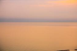 Adriatic Sea near Grottammare, Italy.