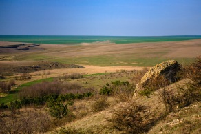 A Dobrogea landscape