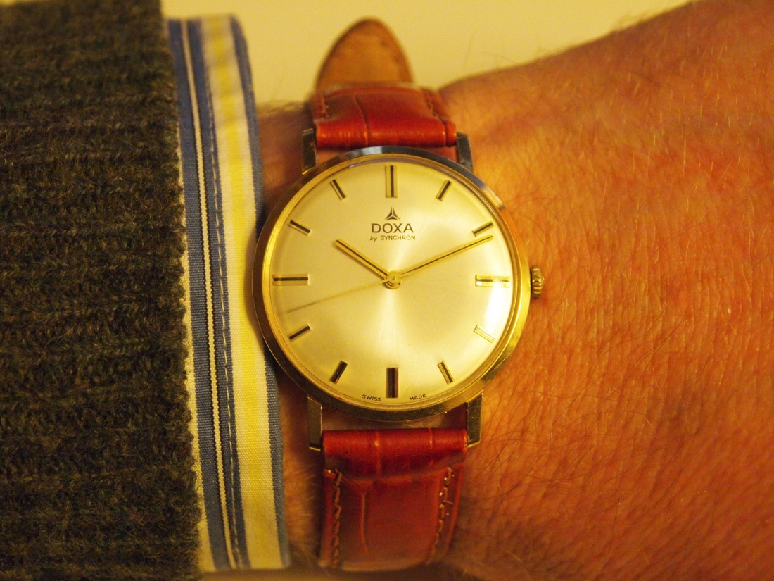 A 1973 Doxa by Synchron Watch