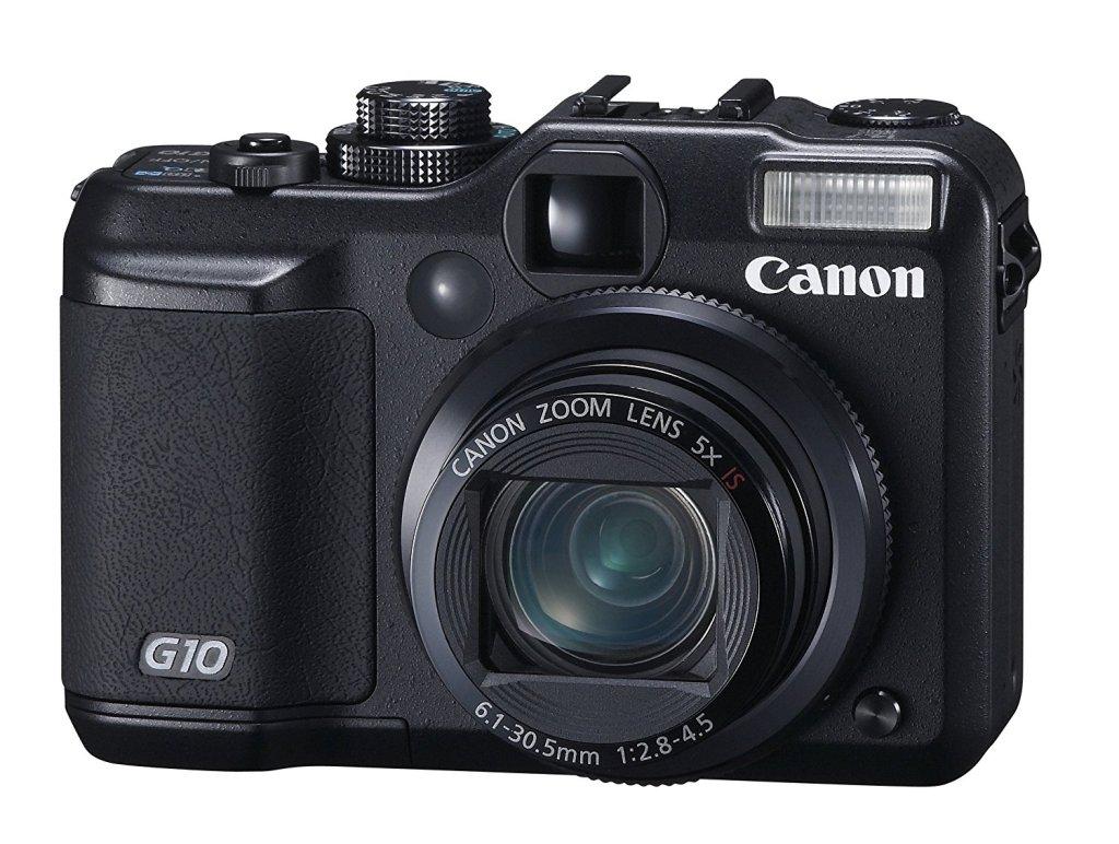 Canon PowerShot G10 Front