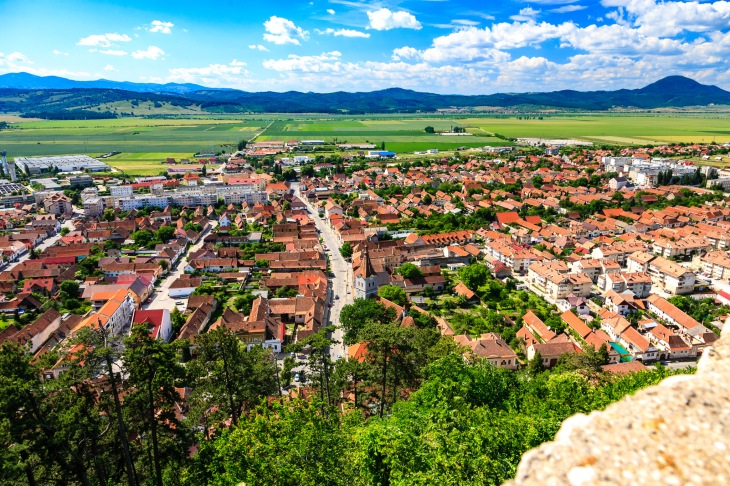 Rasnov Town
