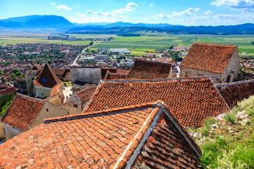 Rooftops of Rasnov