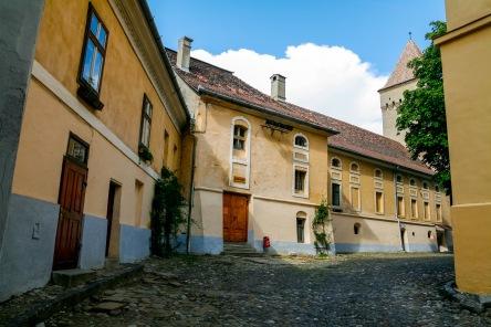 Margarethenkirche courtyard