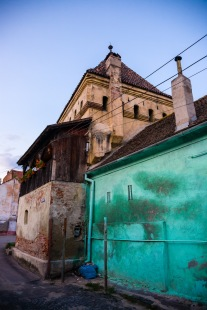 Historic district, Medias, Romania